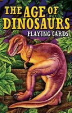 The Age of Dinosaurs Playing Cards New