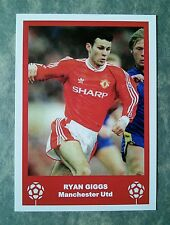 MANCHESTER UNITED - RYAN GIGGS - RETRO FATHERS DAY 'FOOTBALL CARD' /GIFT TAG