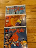 1994 Malibu Manga Comic Project A-KO Lot Of 3 Issues: Includes #2, 3, & 4 (of 4)