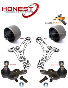 For LEXUS RX350 RX400H 05> FRONT LOWER WISHBONE ARM BUSHES & BALLJOINTS 4 Piece