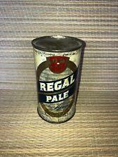 Vintage Flat Top Beer Can Regal Pale