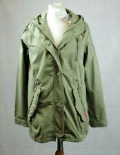 Superdry señora chaqueta Parka caqui abrigo vellón g50003vq