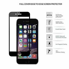 3D Carbon Fibre Full Curved Tempered Glass LCD Screen Protect For iPhone 7 Black