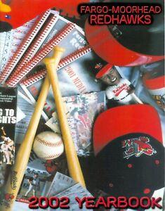 2002 Fargo-Moorhead Redhawks Official Yearbook Northern League Baseball