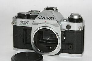 """Canon AE-1 Program SLR Gehäuse """" guter Zustand """" """" Lichtdichtungen erneuert """""""