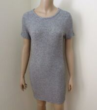 NEW Brandy Melville Bodycon T-Shirt Dress Marled Gray