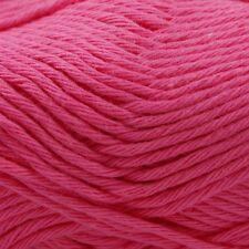 Rico Creative Cotton Aran - 100% Cotton Knitting & Crochet Yarn - Candy Pink 64