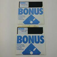 """Jordan - Home Copy - 5.25 Floppy Disks 5 1/4"""" Vintage Computer Game"""