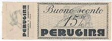 COUPON BUONO SCONTO PER ACQUISTARE CIOCCOLATO PERUGINA PERUGIA  3-367