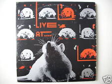 LIVE AT RAT RECORDS VOL. I MARC THOR REAL ENFANTS faire LP (L1934)