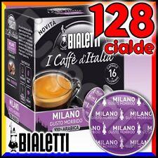 128 Capsule caffè BIALETTI MILANO cialde Mokespresso alluminio espresso Mokona