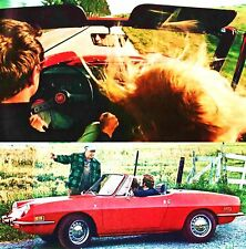 1971 FIAT 850 BROCHURE -850 SPORT SPIDER-850 COUPE-SEDAN
