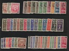Colombia great lot revenue specimens Mint NH 76 differ