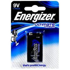Energizer 10 Jahres Batterie für Rauchmelder Ultimate Lithium 6LR61 9V  Lithium