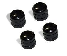 Knob Push on 6mm Black with Black Pearl 4 pack 0811270Bkbp-4P