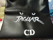 Atari Jaguar CD/ Custom Made Dustcover/White Logo/ Unique cover for Jag. CD.