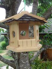 Robustes Vogelhaus aus Holz Vogelhäuschen Futterhaus XL Futterhäuschen deko