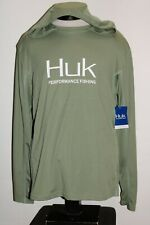 NEW NWT HUK Performance Fishing Mens Large L hooded Jersey Combine ship Discount