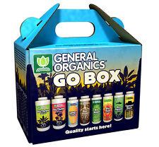General Organics GO BOX Starter Kit GH Organic Nutrients SAVE $$ W/ BAY HYDRO $$