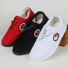 Unisex Wu shu Martial Arts Tai Chi Quan Wing Chun Training Kung Fu Canvas shoes