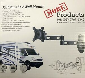 More Products TV Wall Mount Bracket With Locking Pin