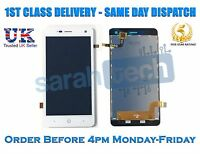 "Replacement ZTE BLADE L3 5.0"" Touch Screen Digitizer LCD Display Assembly White"