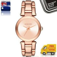 New Michael Kors Ladies Watch Delray Rose Gold Stainless Steel MK3518 Melbourne