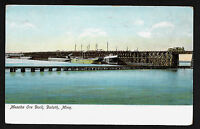 Mesaba Ore Dock Duluth Minn Minnesota MN undivided back postcard