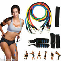 1 Type Fitness Equipment Resistance Bands Tube Workout Exercise Yoga Training
