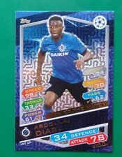 CARD ABDOULAY DIABY - MAN OF THE MATCH, TOPPS MATCH ATTAX - 2016/17 CHAMPIONS