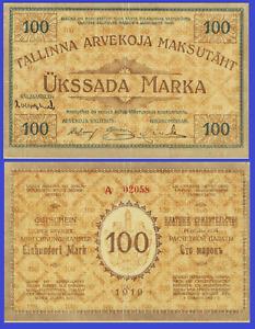 Estonia 100 mark 1919. UNC - Reproduction