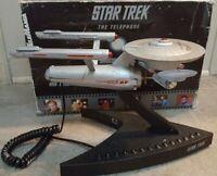 Star Trek Enterprise Phone NCC 1701 Telemania Collectors edition 1993