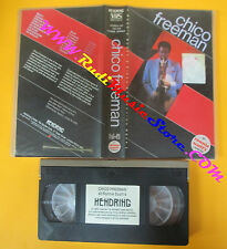 VHS CHICO FREEMAN At ronnie scott's london HENDRING HEN 2 041 no cd lp dvd(VM10)