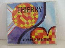 CD 4 titres THIERRY Je t aime plus que moi BURT BLANCA aux guitares 14226
