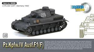 Dragon Armor 1/72 Scale Pz.Kpfw.IV Ausf.F1(F) Panzer Tank 60696