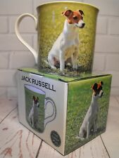 JACK RUSSELL TERRIER GIFT MUG JACK RUSELL TERRIER MUG GIFT PRESENT # BROWN WHITE