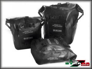 Strada 7 Motorcycle Universal 40L Combo Dry Duffle Tail Bag KTM 640 Adventure
