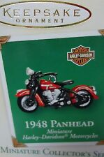 HALLMARK 2003 Harley 1948 Panhead miniature motorcycle series ornament NEW