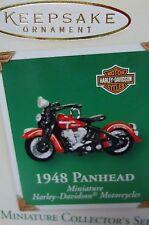 HALLMARK 2003 Harley 1948 Panhead miniature motorcycle series ornament NEW