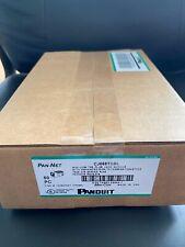 Panduit Giga-TX Cat6 jacks Black CJ688TGBL BOX OF 50. FAST FREE SHIPPING!