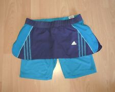 Adidas Trail Split Jogging Skort Jupe + Tight Climalite L 42 - 44/uk16 -18 NEUF