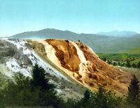 "1902 Jupiter Terrace, Yellowstone Park, WY Vintage Photograph 8.5"" x 11"" Reprint"