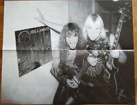 ⭐⭐⭐⭐ Slayer ⭐⭐⭐⭐ Jeff Hanneman ⭐⭐⭐⭐ 1 Poster Plakat 46 x 59 cm ⭐⭐⭐⭐