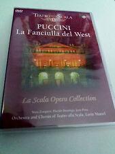 """LORIN MAAZEL """"PUCCINI LA FANCIULLA DEL WEST"""" DVD COMO NUEVO TEATRO ALLA SCALA"""