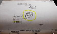 FIAT 619-697 - SUPPORTO FRENI ANTERIORI SINISTRO 4674938