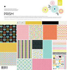 BasicGrey PRISM  12 x 12 Paper Collection Pack psm-4827 Basic Grey
