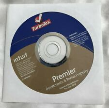 Turbotax 2012 Premier Investments & Rental Property Windows/Mac CD only