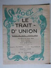 Le trait-d'union n° 11 Bulletin du cercle Charles Péguy 1937