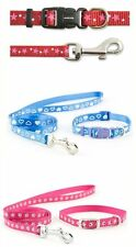 Ancol Small Bite Dog Collar and Lead Leash Set for Puppy Puppies and Small Dogs