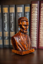 "Carved little sculpture ""Lincoln bust"""